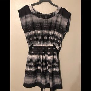 BeBop mini dress with belt